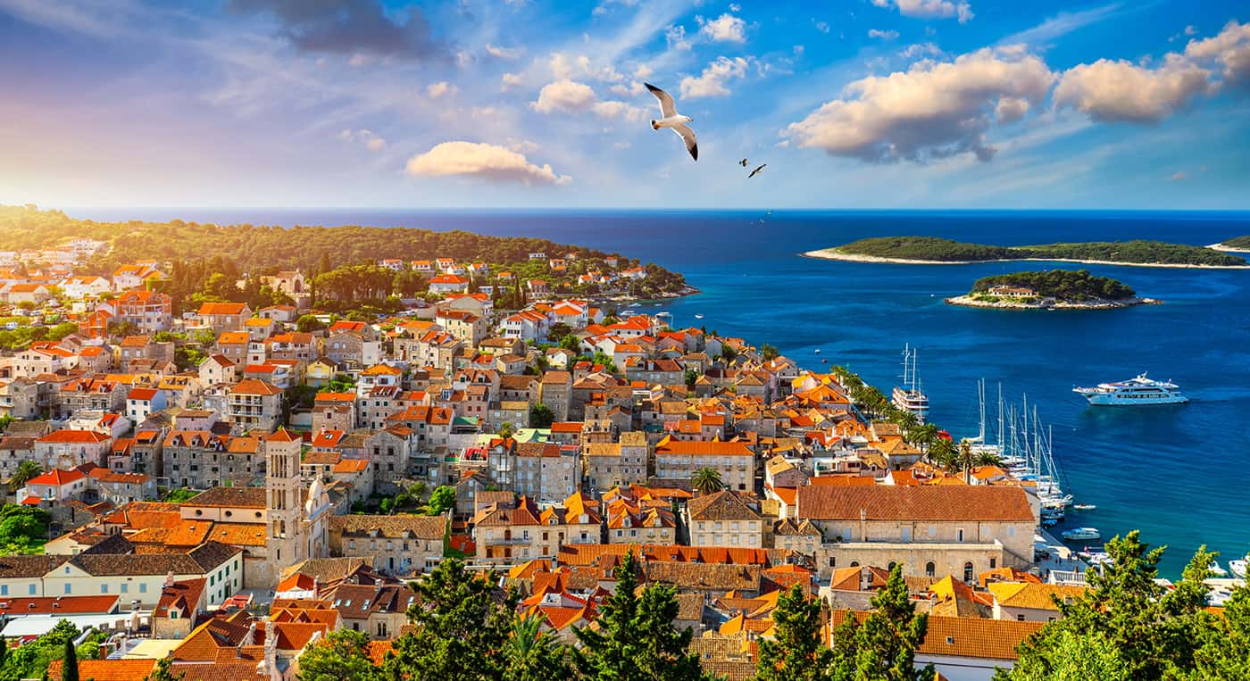 Hvar, Brac & Paklinski islands
