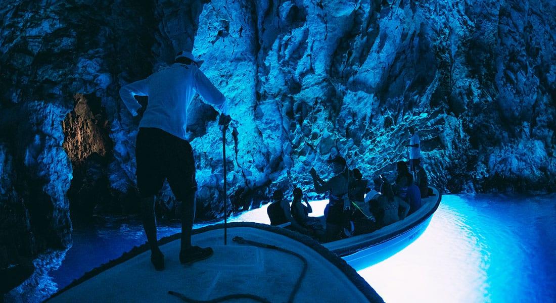 blue cave photo inside