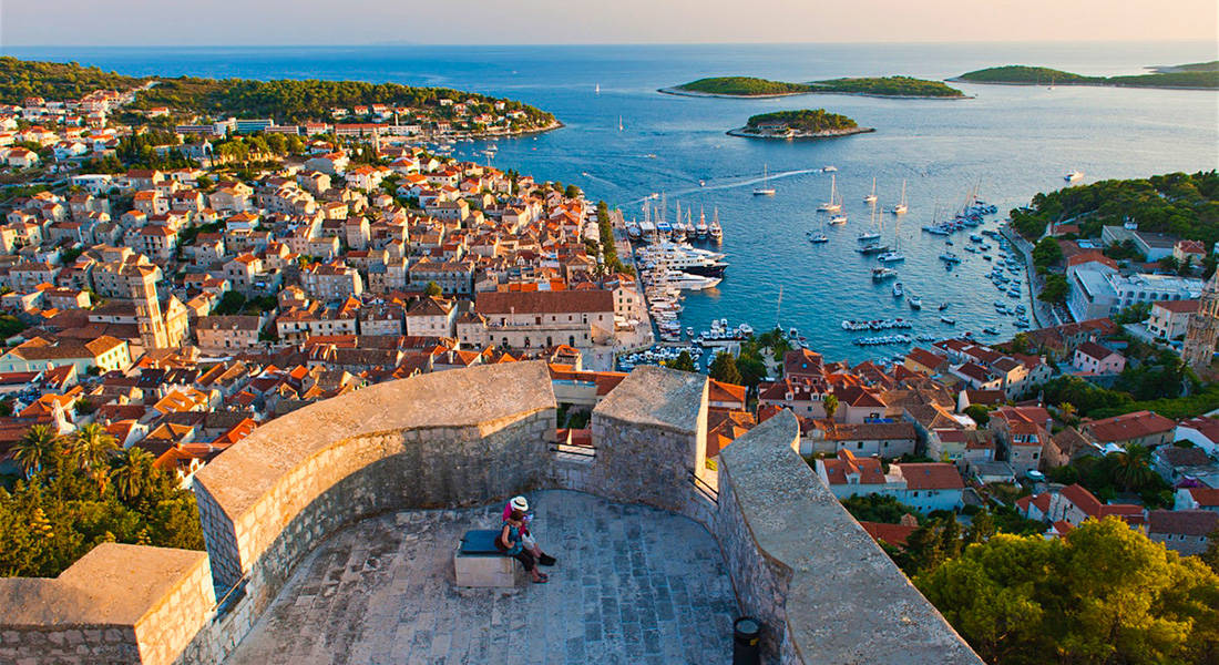 Hvar island from Split