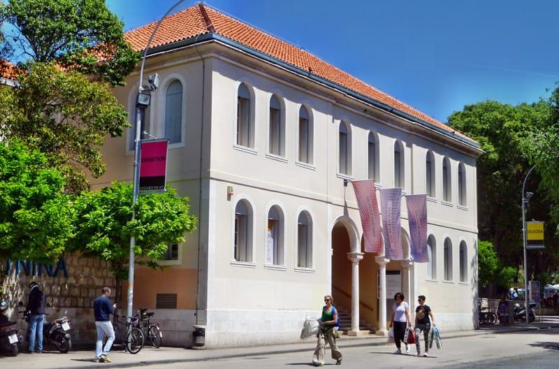 Gallery of fine arts, Split Croatia