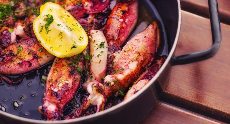 delitious food in Split Croatia
