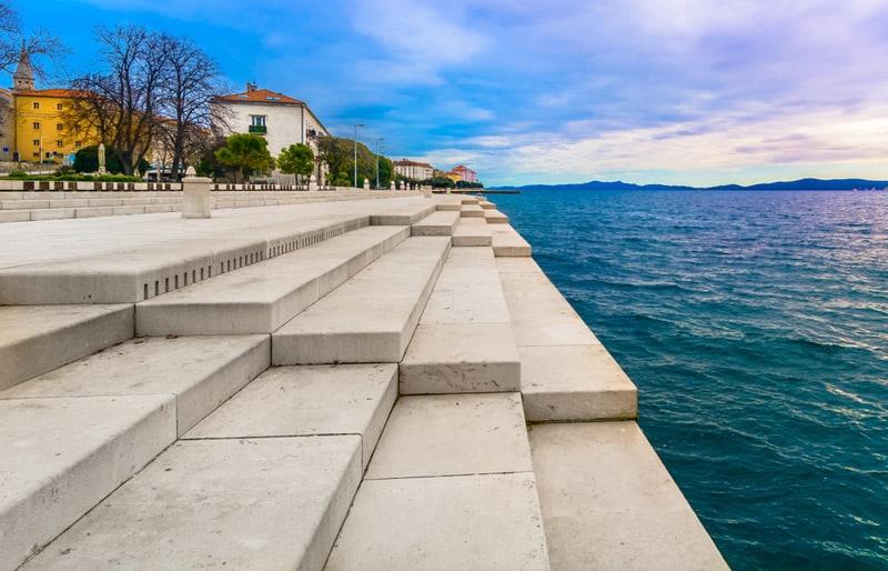 Sea organs in Zadar